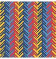 Colorful herringbone vector image