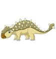 Ankylosaurus Dinosaur cartoon vector image