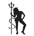 Devil girl bad girl2 vector image