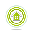 private buildings design homekey alarm style vector image