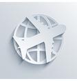 travel background Eps10 vector image