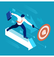 Business Graph 04 People Isometric vector image