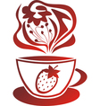 Fruit tea vector image vector image