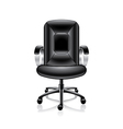 object office chair vector image