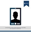 user profile design vector image