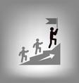 leadership icon vector image