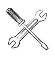 technical support technology maintenance equipment vector image