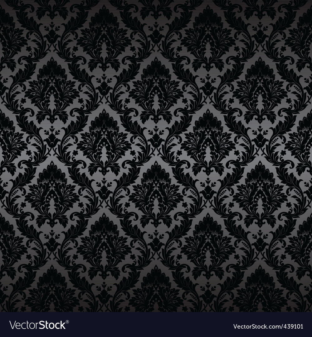 Damask wallpaper 1 017 vector