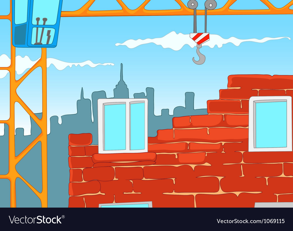 House construction vector
