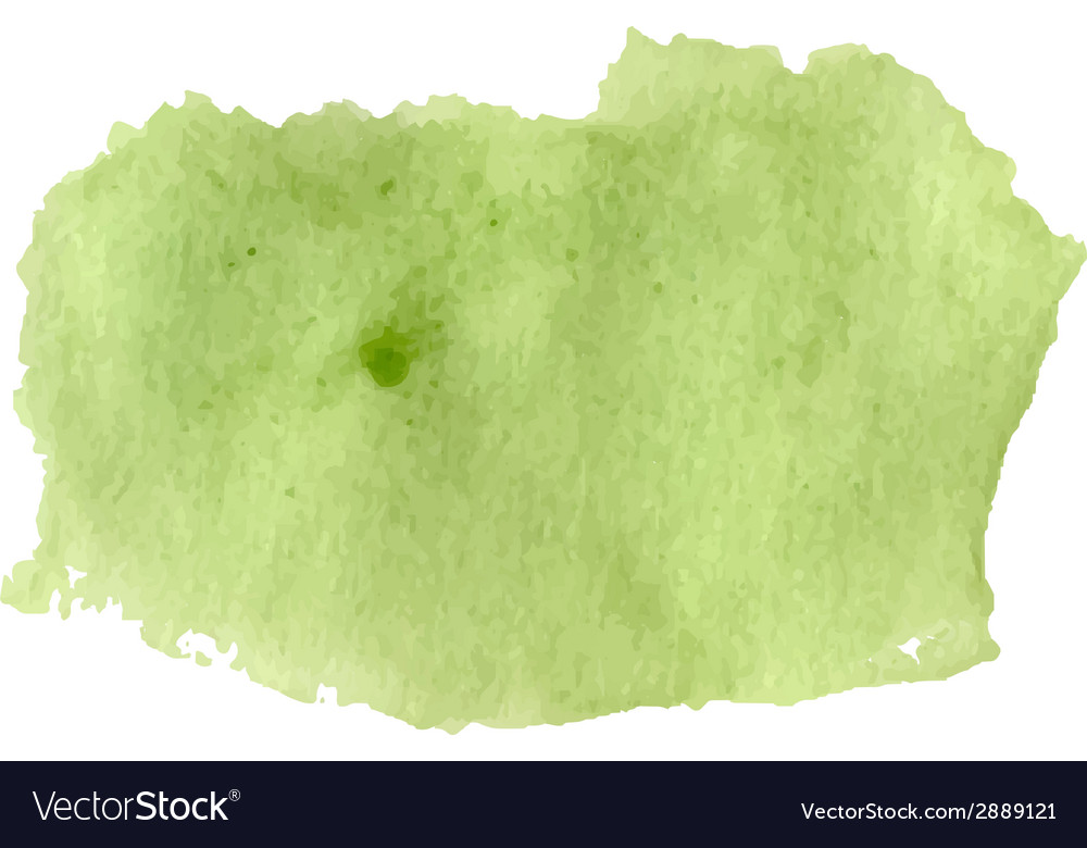 Light green watercolor art vector