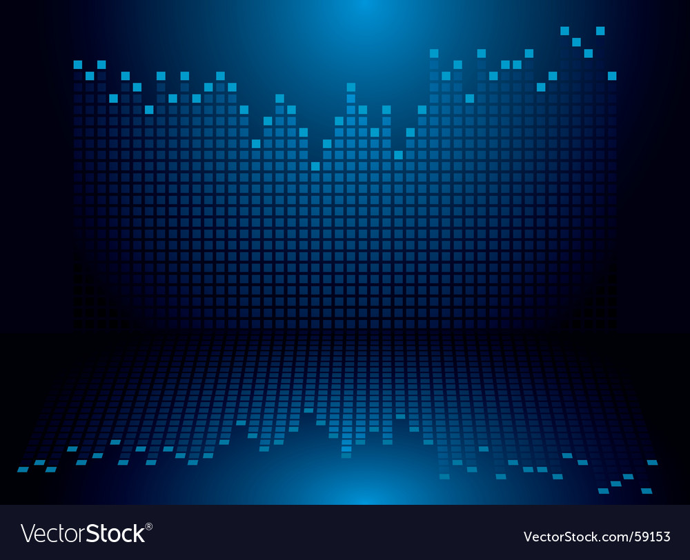Graphics blue vector