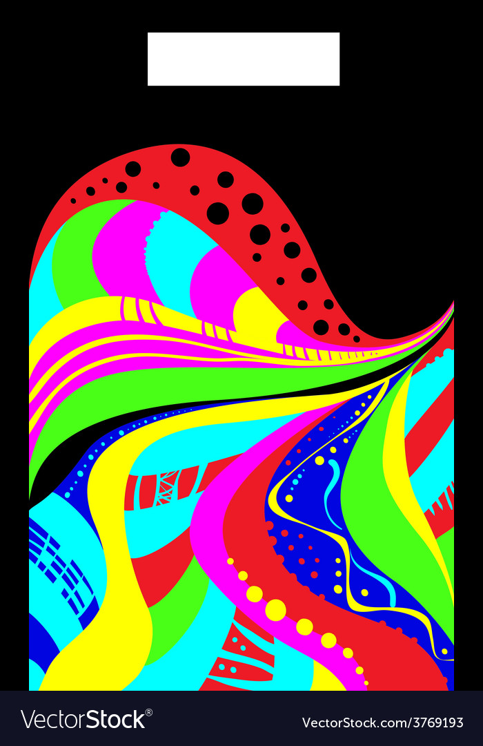 Abstractioninacidcolors vector