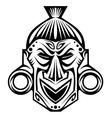 tribal mask vector image