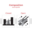 Composition quick guide vector image