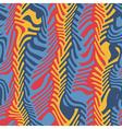 ornate herringbone distortion vector image