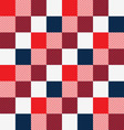 Rectangles seamless pattern vector image