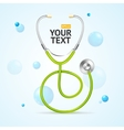 Stethoscope Medical Concept vector image