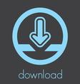 download icon1 vector image