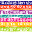 background ethnic motifs vector image vector image