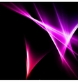 Abstract pink and red rays lights vector image