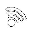 wifi sign illuatratio vector image
