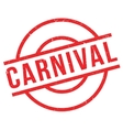 Carnival rubber stamp vector image