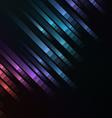 abstract pixel speed racer corner background vector image