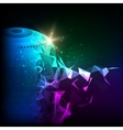 Abstract composition futuristic technology vector image