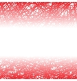 Abstract Red Line Background vector image