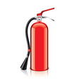 object fire extinguisher vector image