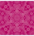 Pink ethnic ornate boho doodle seamless pattern vector image