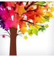 abstract background tree with branches made of vector image