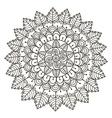 Beautiful Floral mandala vector image