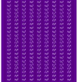Purple background with vertical stripes vector image