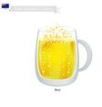 Beer A Popular Dink in New Zealand vector image