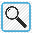 Magnifier Icon In a Frame vector image