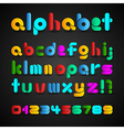 Colorful Decorative Alphabet vector image vector image