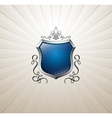 Vintage heraldry emblem vector image