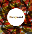 abstract background colorful Feeling hot vector image