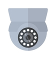 Security camera safety technology vector image