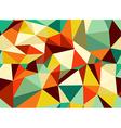 Trendy vintage geometric seamless pattern vector image