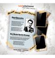 photo book vintage vector image vector image
