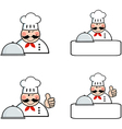 Chefs Banners Collection vector image