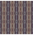 Decorative striped pattern in organic colors vector image