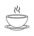 menu restaurant soup bowl dish hot dinner vector image