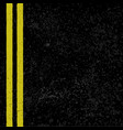 asphalt with road lines vector image