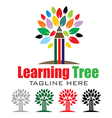 Learning Tree Logo vector image