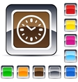 time square button vector image vector image