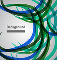 abstract background colorful wave line vector image
