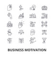 business motivation personal inspiration vector image